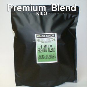 Kratom| Premium Blend Kilo/1000 Grams| Air Sealed